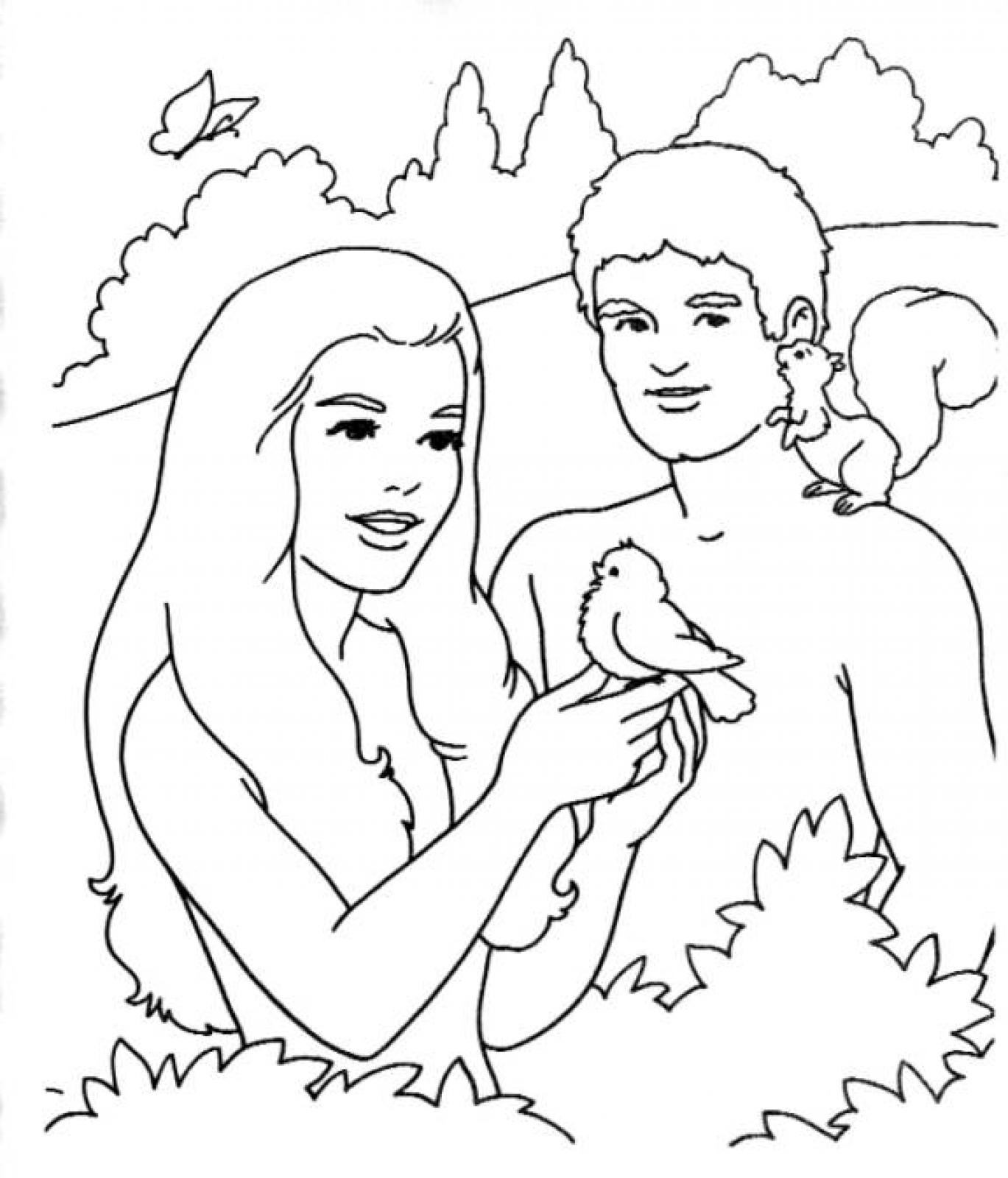 adam and eve coloring page printable adam and eve coloring pages for kids cool2bkids page and eve coloring adam