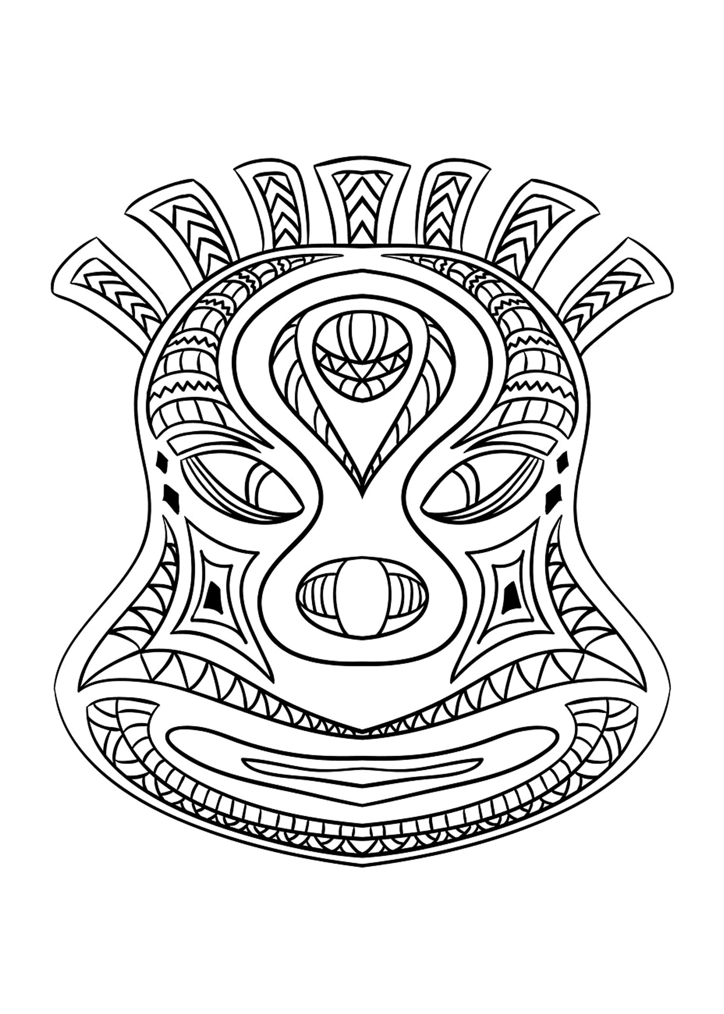 african mask coloring sheets african mask africa adult coloring pages page 2 mask coloring african sheets