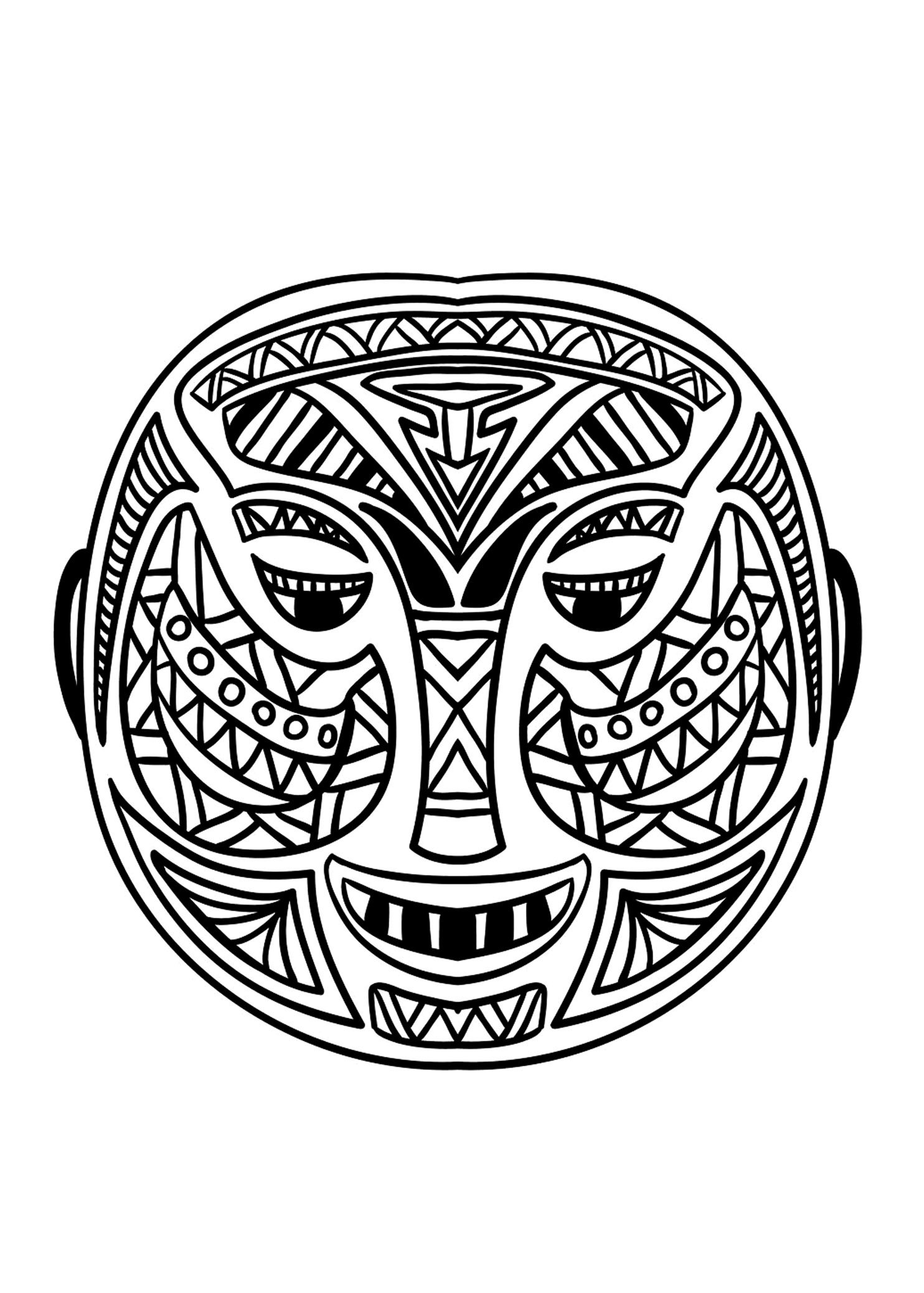 african mask coloring sheets african mask coloring page coloring home mask coloring sheets african