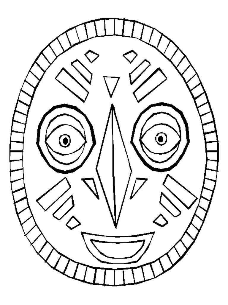 african mask coloring sheets textures with prills in an african mask create n craft african mask coloring sheets