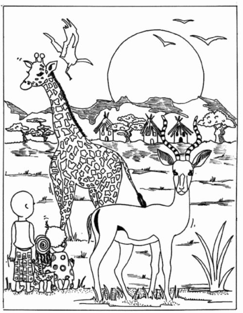 african savanna coloring pages african savanna coloring pages preschool coloring pages savanna african pages coloring