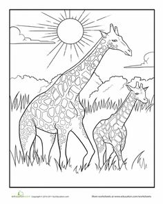 african savanna coloring pages african savanna landscape coloring pages coloring pages savanna pages african coloring