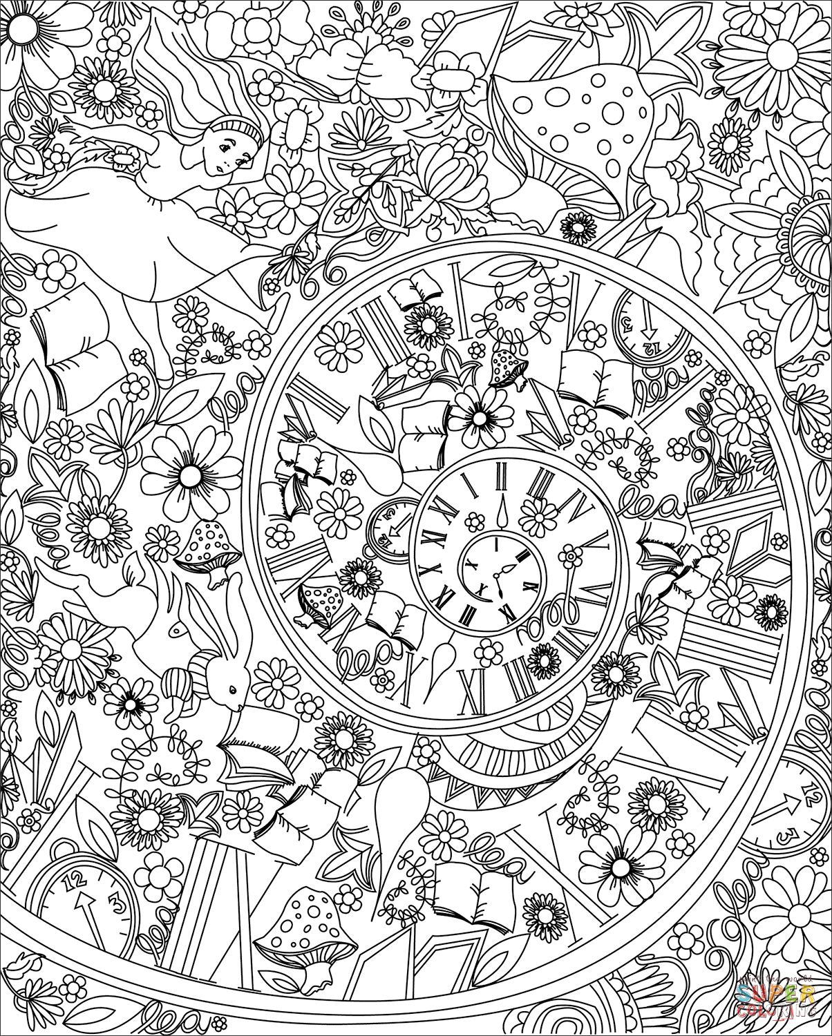 alice in wonderland coloring pages alice in wonderland coloring pages in wonderland coloring pages alice