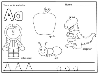 alphabet coloring books alphabet coloring pages color trace and write by kids books coloring alphabet