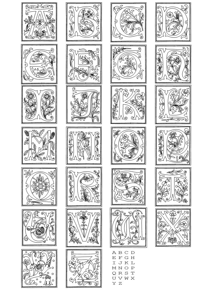 alphabet coloring books fun coloring pages alphabet coloring pages alphabet books coloring