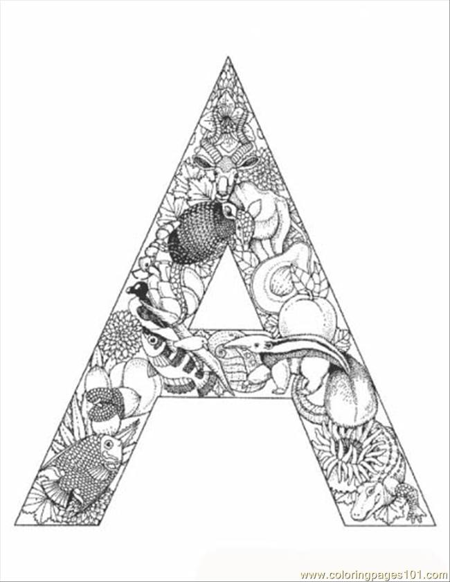alphabet colouring in coloring pages letters adult coloring home alphabet colouring in