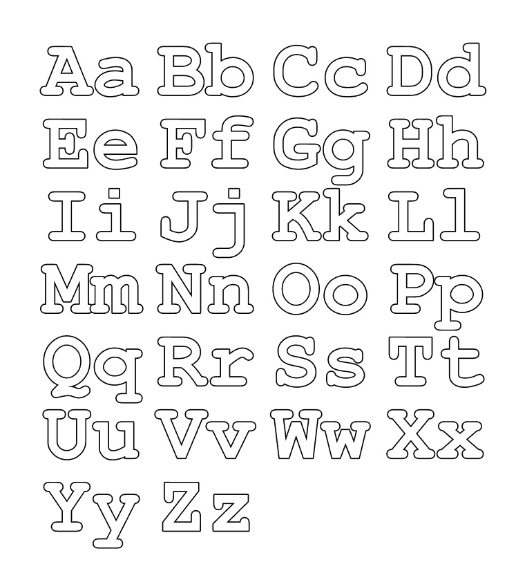 alphabet colouring in free printable abc coloring pages for kids colouring in alphabet