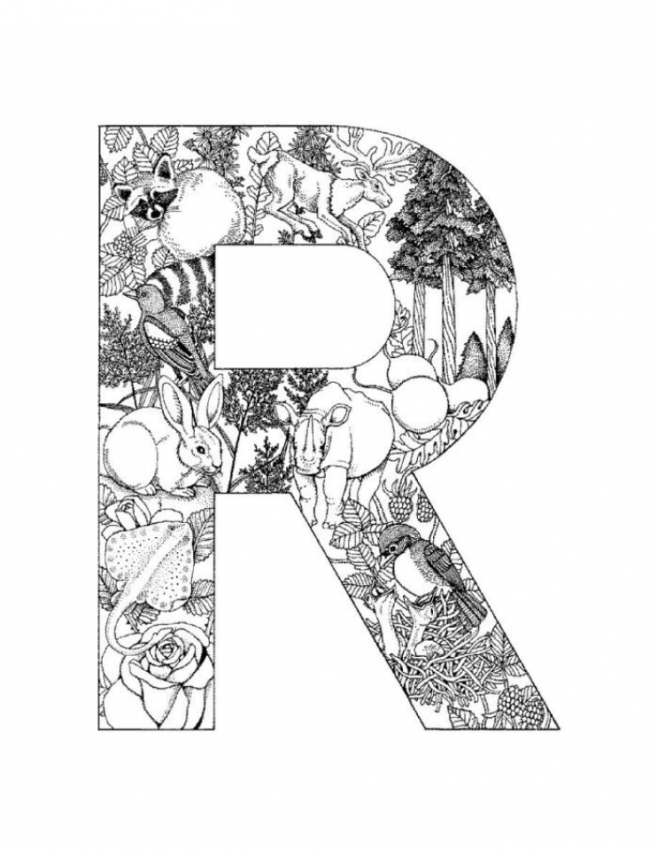 alphabet colouring in free printable alphabet coloring pages a z coloring home alphabet colouring in