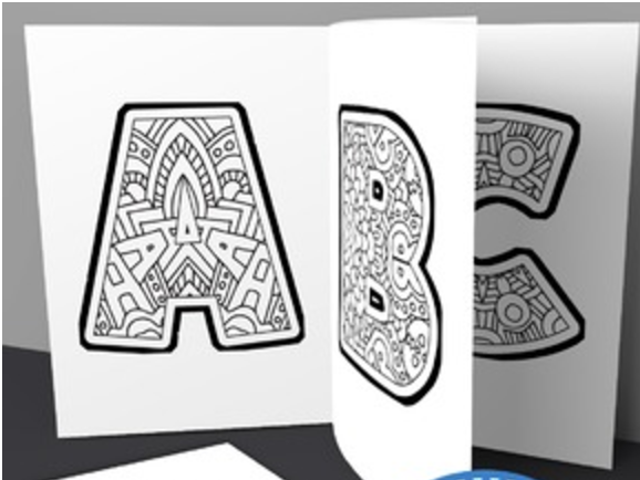 alphabet for coloring pdf whole alphabet coloring pages free printable coloring home for coloring alphabet pdf