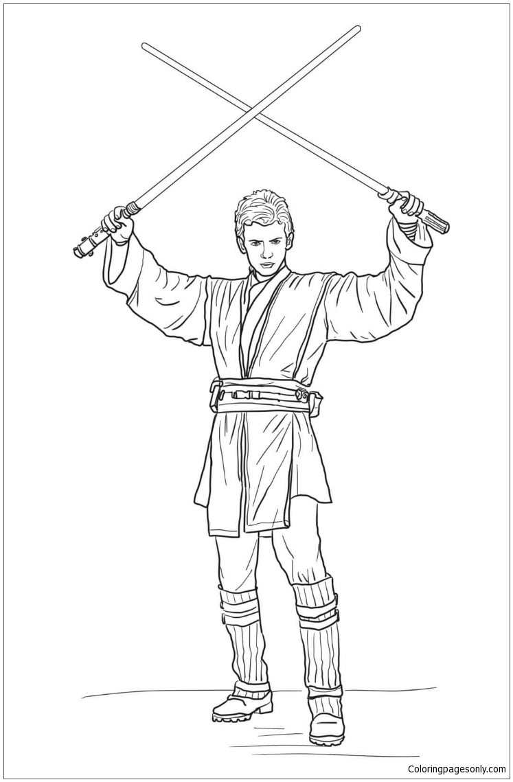 anakin skywalker coloring pages the best free anakin drawing images download from 69 free anakin skywalker pages coloring
