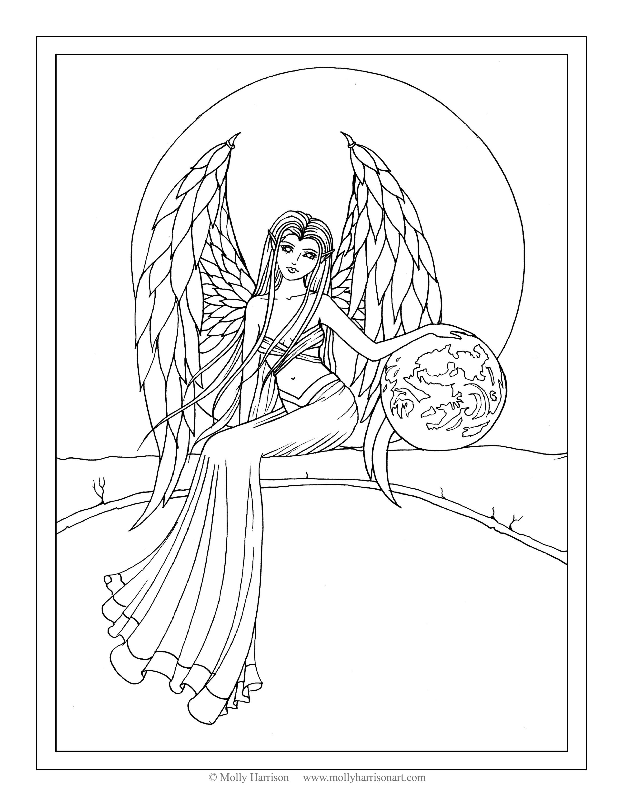 angel colouring angel coloring pages coloringrocks colouring angel