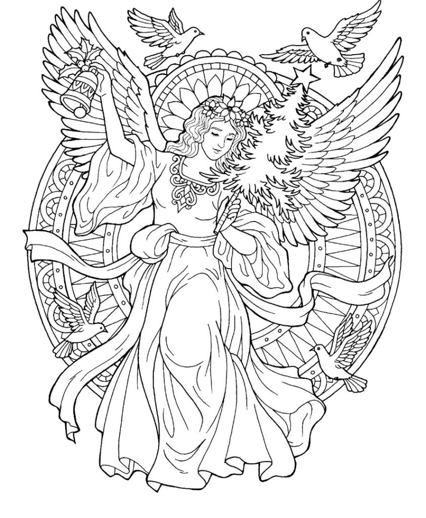 angel colouring angel coloring pages download and print angel coloring pages angel colouring