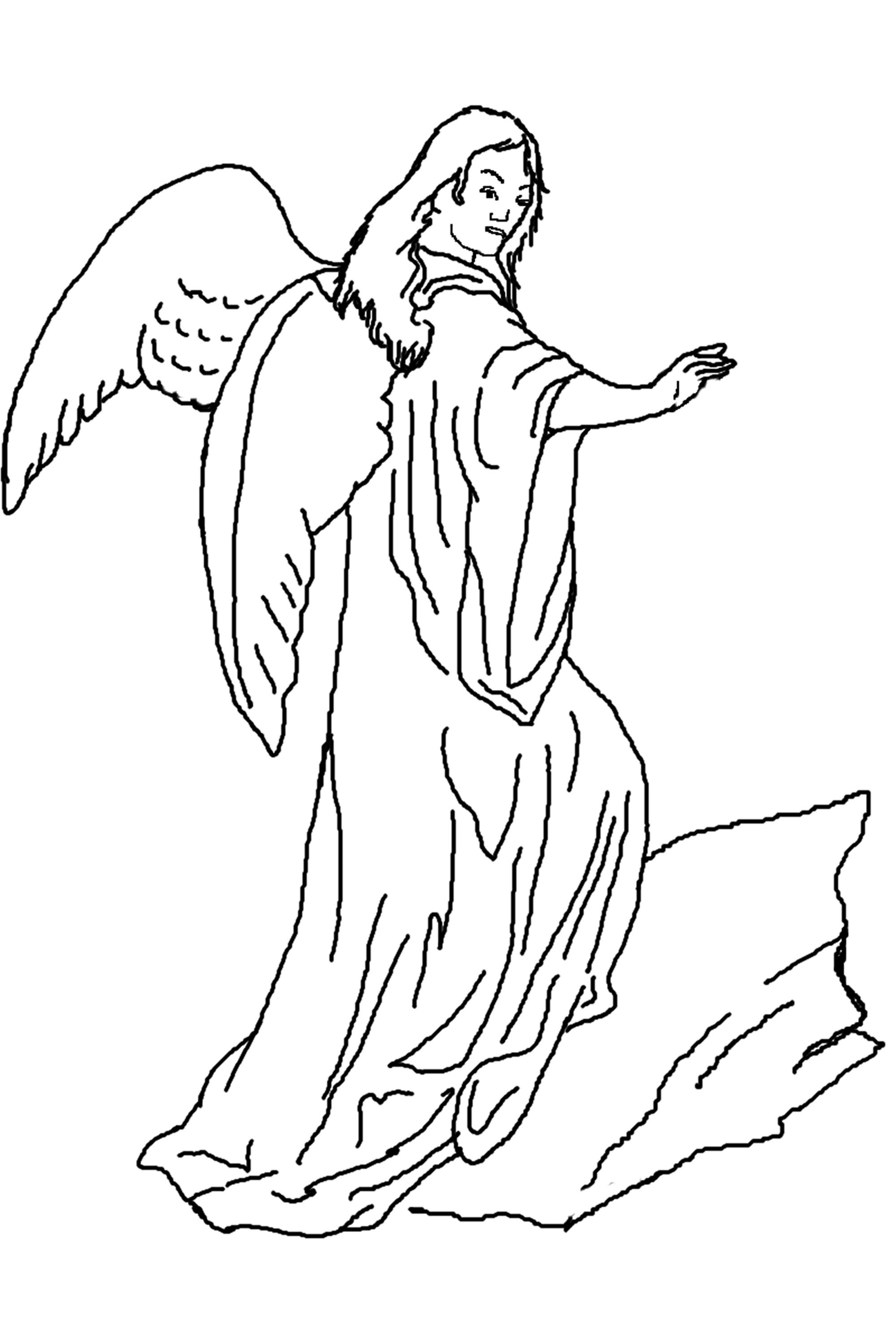 angel colouring free printable angel coloring pages for kids angel colouring