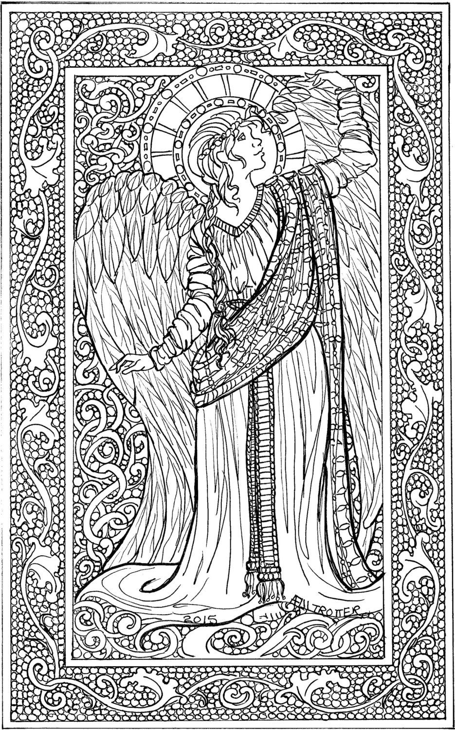 angel colouring guardian angel coloring download guardian angel coloring angel colouring
