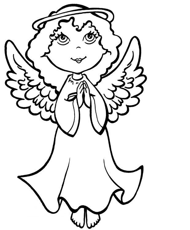angel colouring kids page angel coloring pages colouring angel