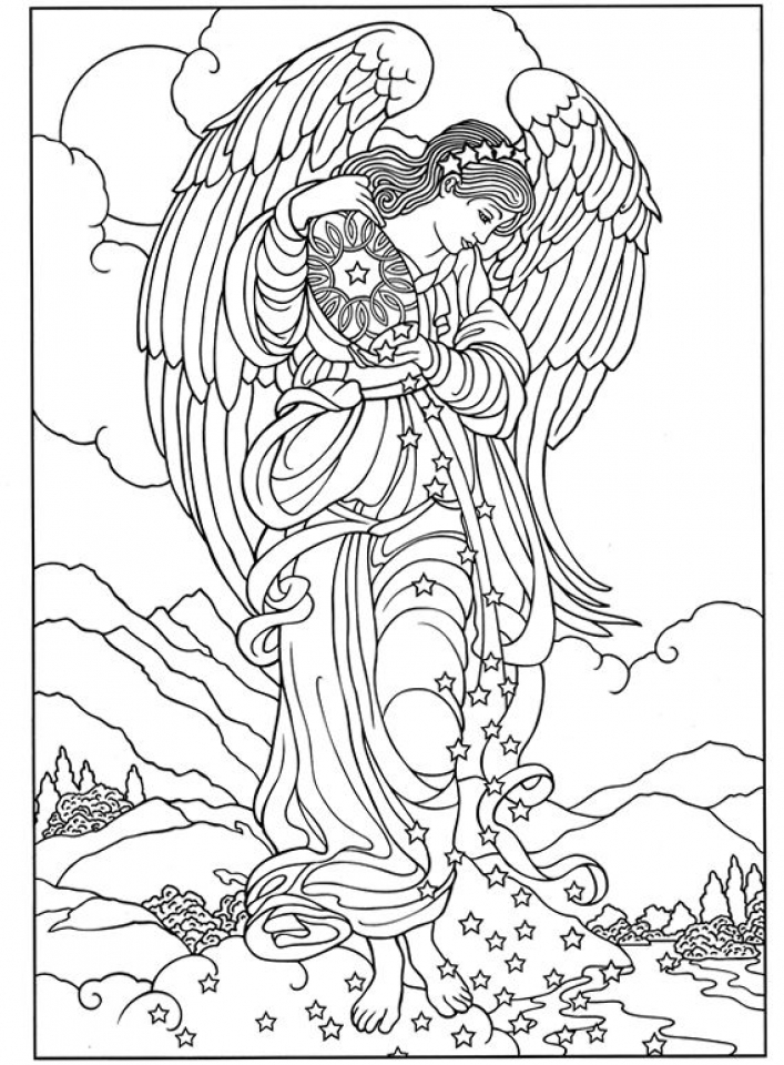 angel colouring printable angel coloring pages coloring home colouring angel