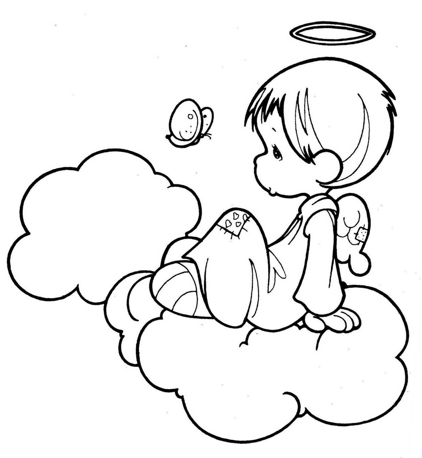 angel colouring snow angel drawing at getdrawings free download colouring angel
