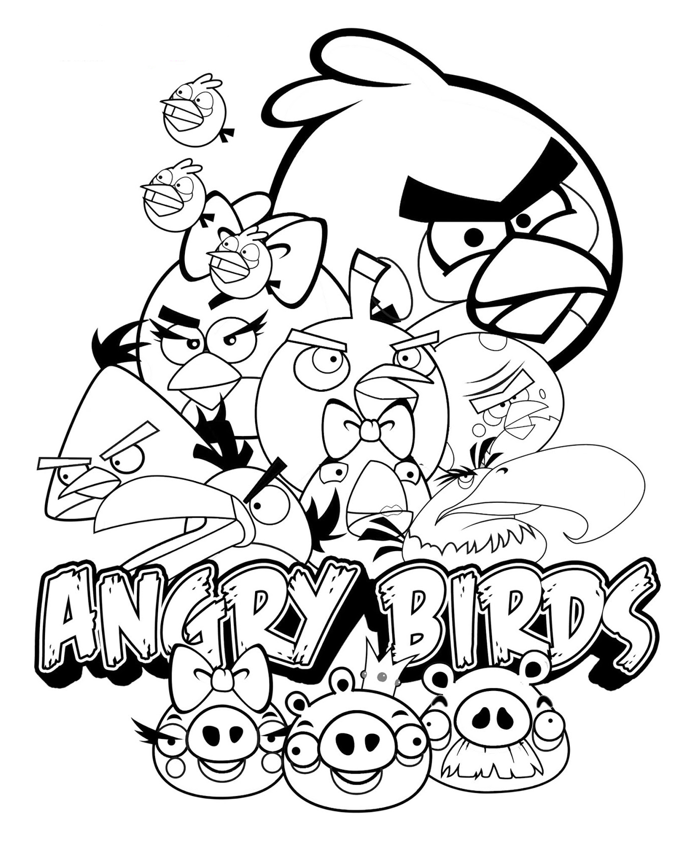 angry bird colouring pictures to print free printable angry bird coloring pages for kids angry colouring pictures to bird print