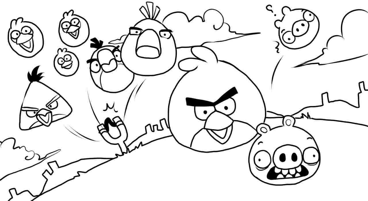 angry birds go coloring pages the best free angry drawing images download from 3346 pages coloring angry birds go