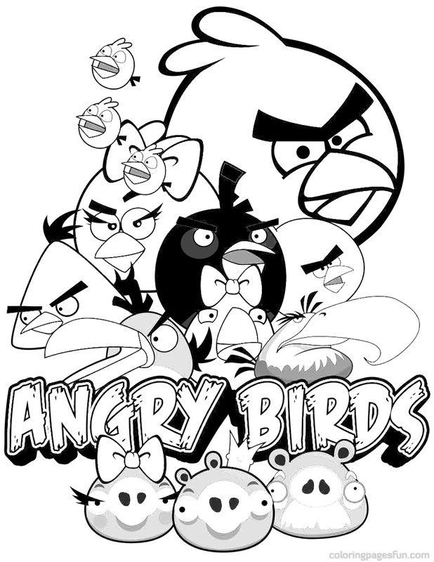 angry birds go colouring pages angry birds coloring pages 5 coloring kids coloring kids colouring go angry pages birds