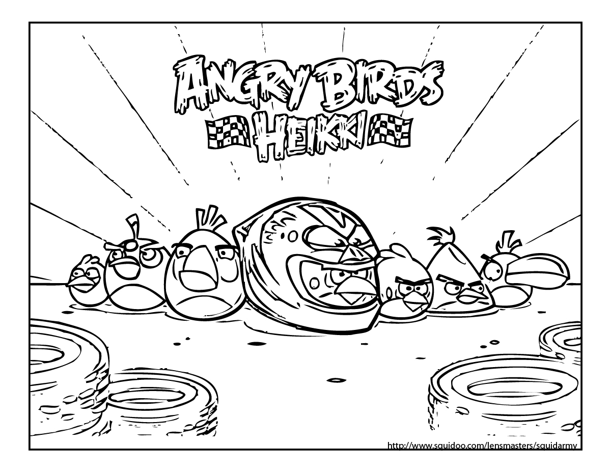 angry birds go colouring pages angry birds go coloring page angry birds free printable colouring birds angry pages go