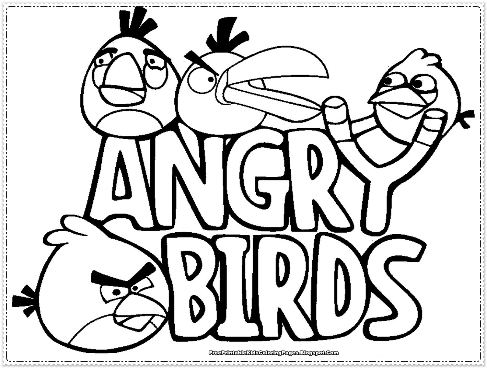 angry birds go colouring pages angry birds kids coloring pages free printable kids pages birds angry go colouring