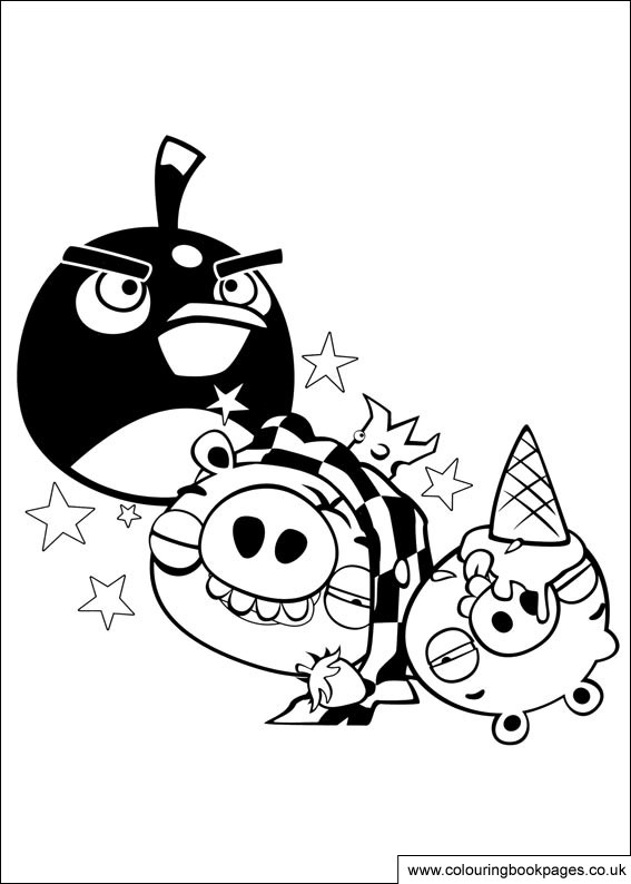 angry birds go colouring pages free angry birds colouring pages 35 character colouring go birds pages colouring angry