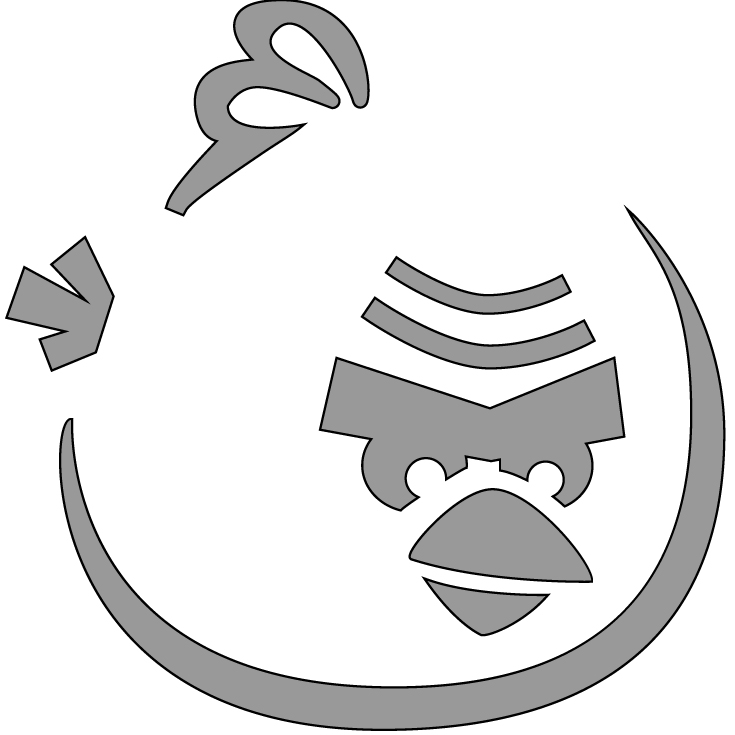 angry birds outline bird clipart black and white free download on clipartmag outline birds angry