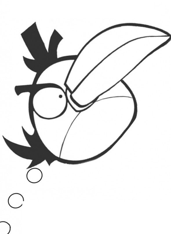 angry birds outline pig outline drawing at getdrawings free download angry birds outline