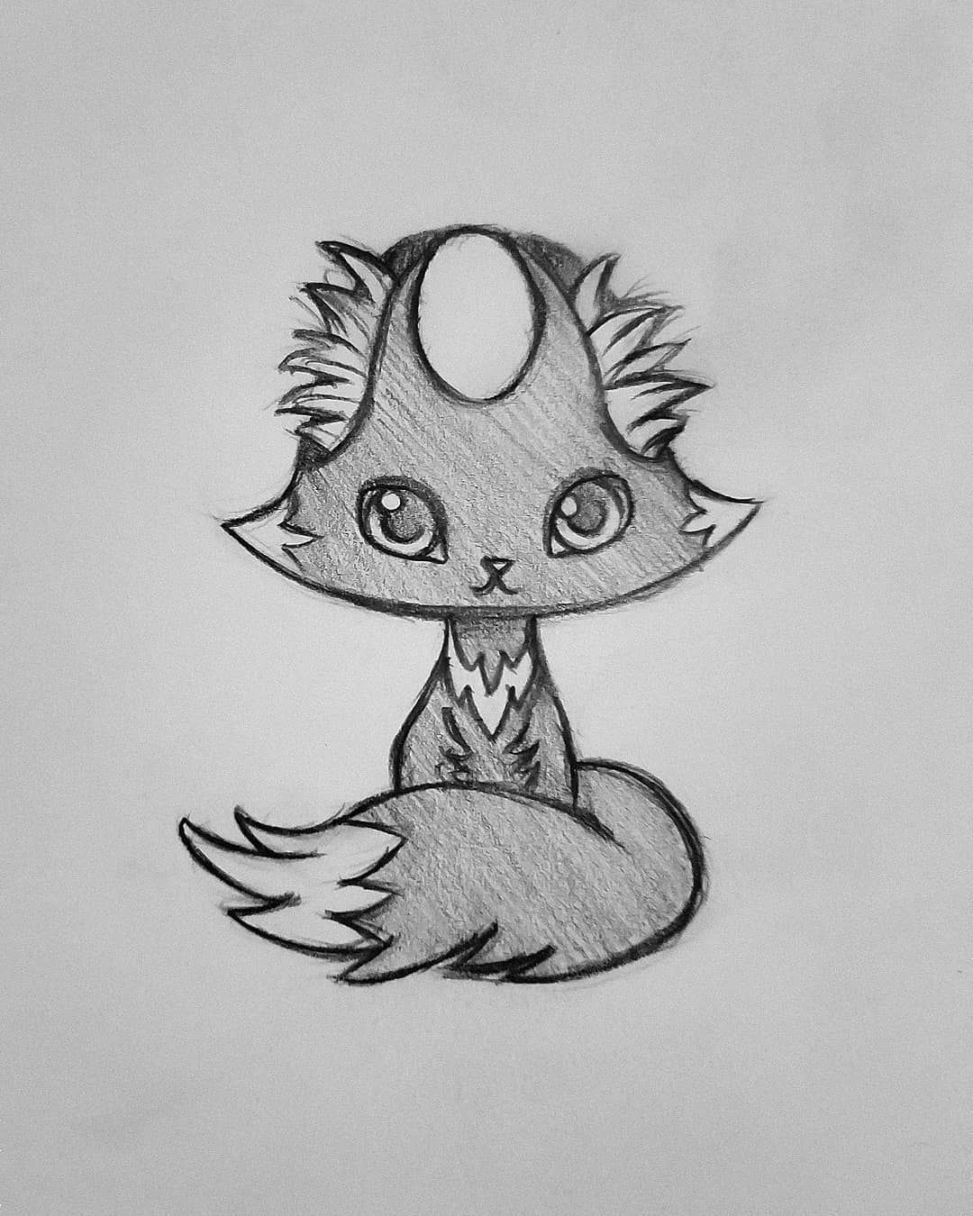 anime animals drawings how to draw an anime fox step by step anime animals animals drawings anime