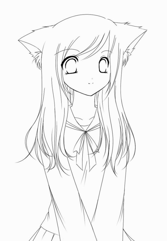 anime coloring pages easy chibi anime coloring pages coloring home coloring easy anime pages