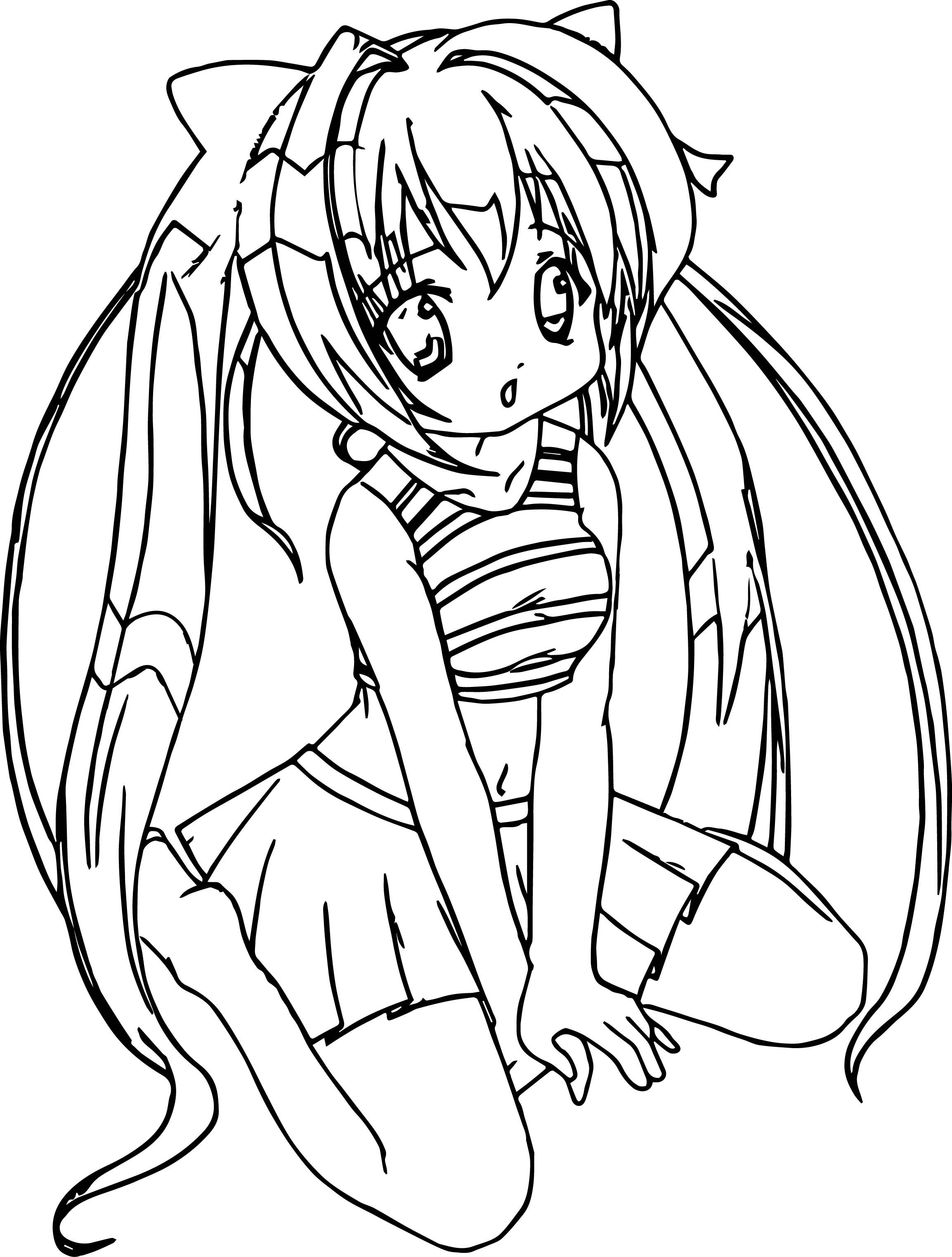 anime coloring pages easy sakura with friend coloring pages for kids printable free easy pages coloring anime