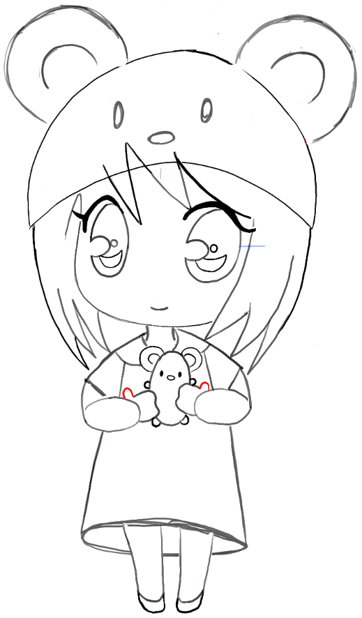 anime mouse girl manga cat drawing at getdrawings free download girl anime mouse