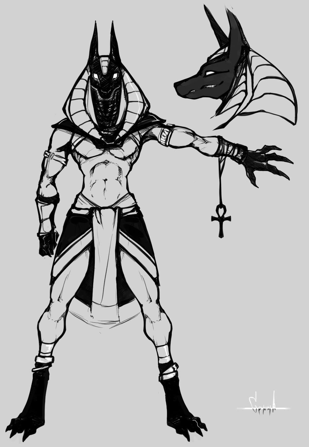 anubis egyptian god drawings i love anubis he is misunderstood as a god of darkness egyptian drawings god anubis
