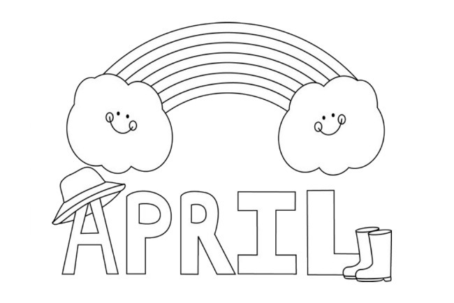 april coloring pages april coloring pages to download and print for free pages coloring april