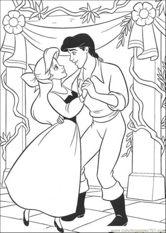 ariel and eric coloring pages ariel and prince eric coloring pages get coloring pages and coloring eric pages ariel