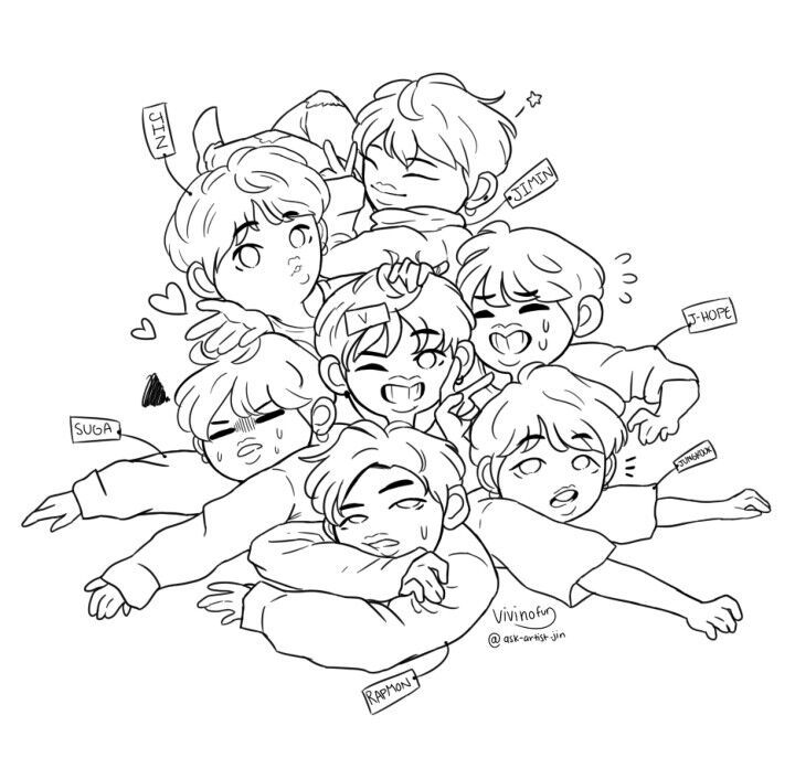 army bts coloring pages bts colouring in army39s amino bts army coloring pages