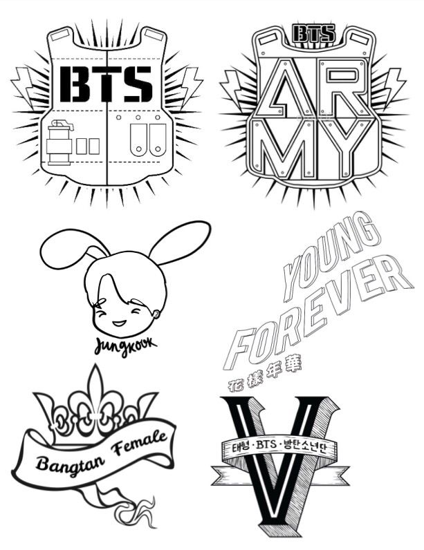 army bts coloring pages the bts army coloring book army39s amino pages bts coloring army