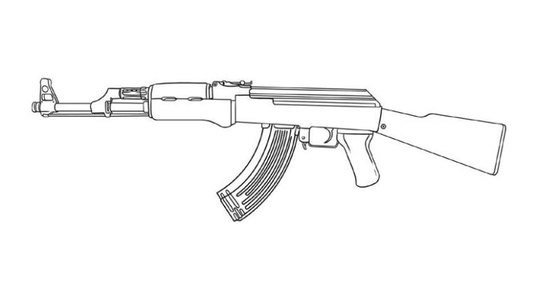 army gun coloring pages firearm coloring pages tactical walls army coloring gun pages