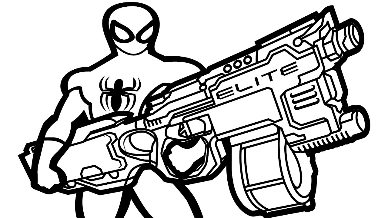 army gun coloring pages m16 556mm rifle pictures army pages gun coloring