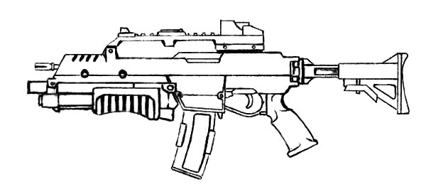 army gun coloring pages sniper rifle drawing at getdrawings free download gun army pages coloring