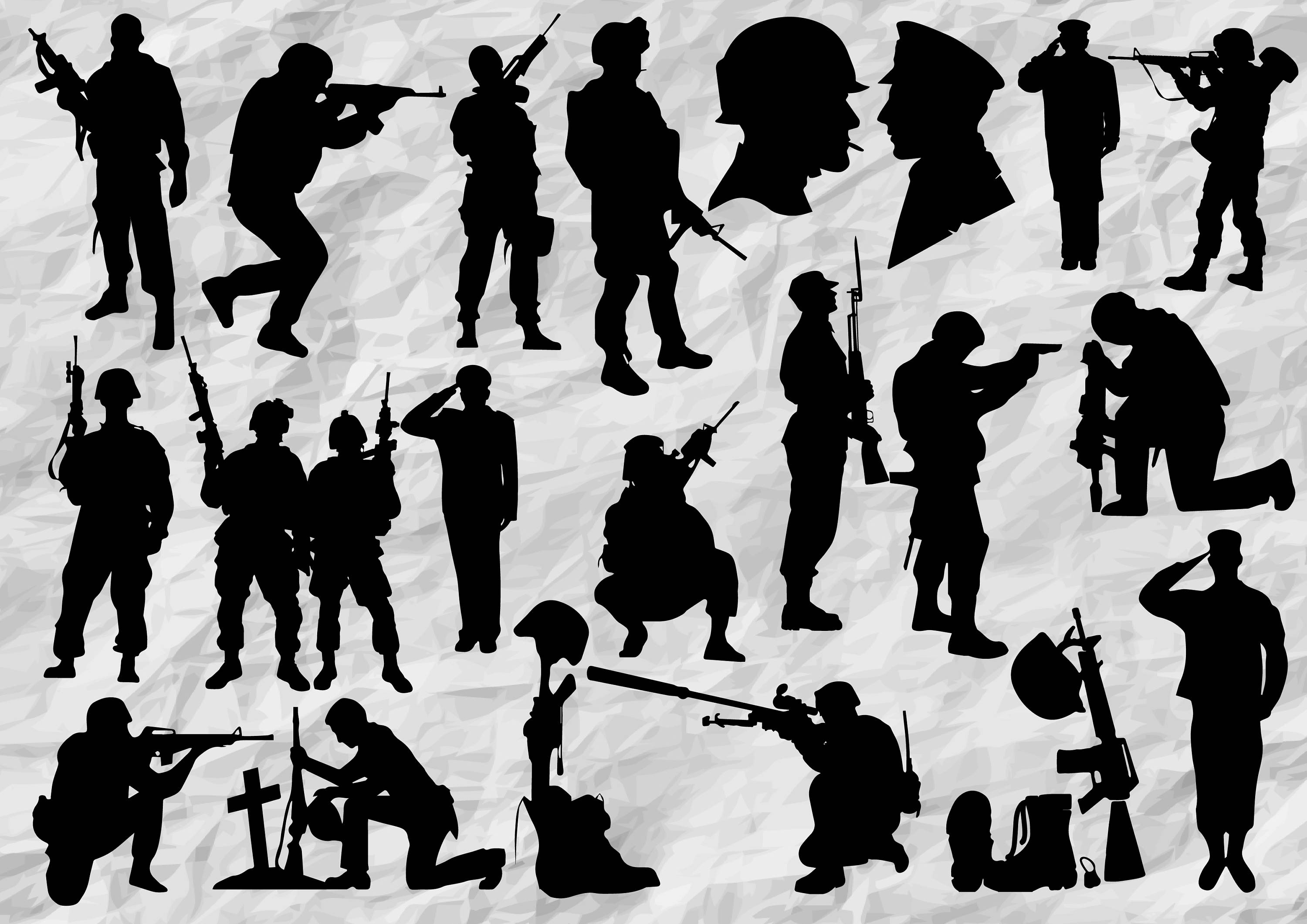army silhouette army silhouettes free vector site download free vector army silhouette