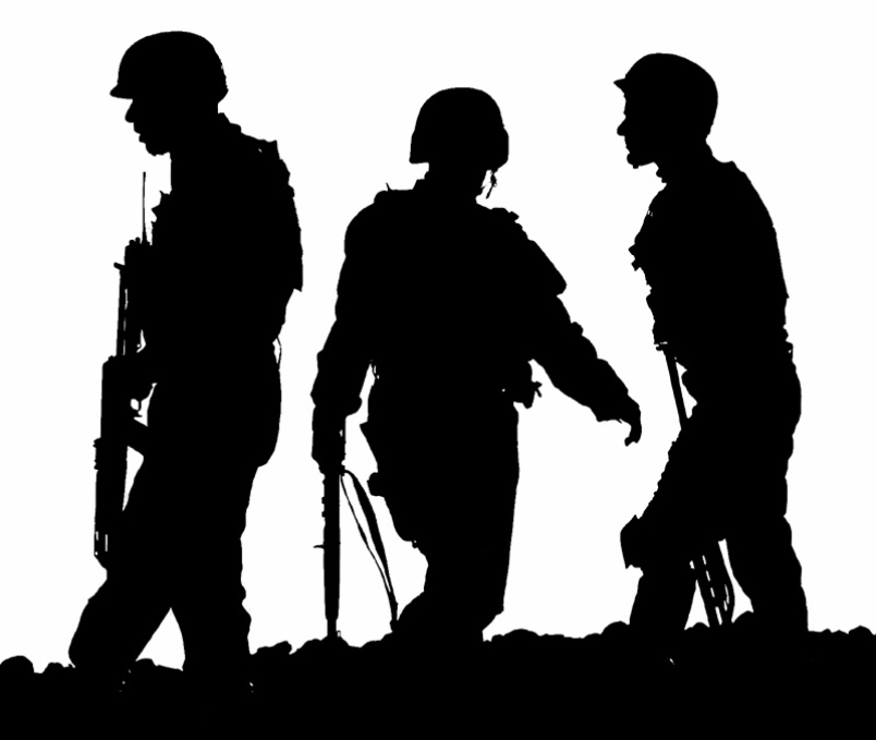 army silhouette army soldiers silhouette free vector silhouettes army silhouette