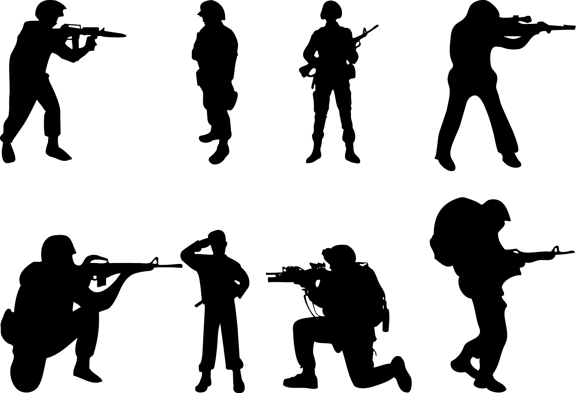 army silhouette milatary silhouette clipart clipground silhouette army