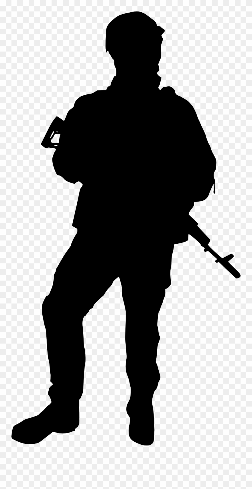 army silhouette military series cool man silhouette stickers removable army silhouette
