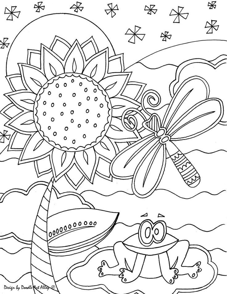 art coloring pages free coloring pages doodle art alley coloring pages art