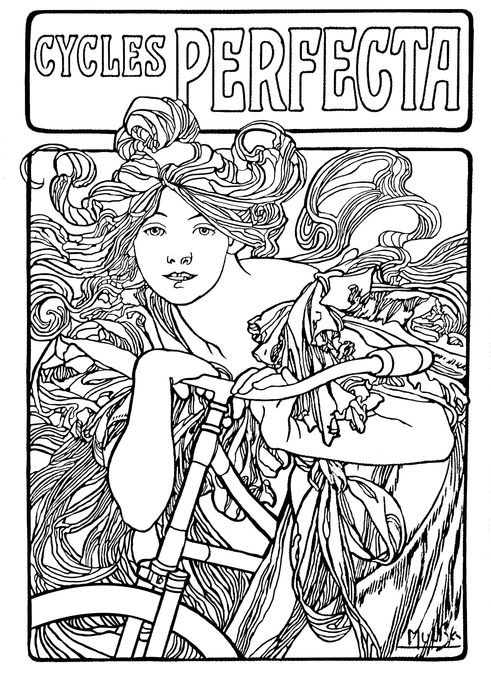 art nouveau coloring pages stained glass drawing art nouveau style art nouveau coloring nouveau pages art