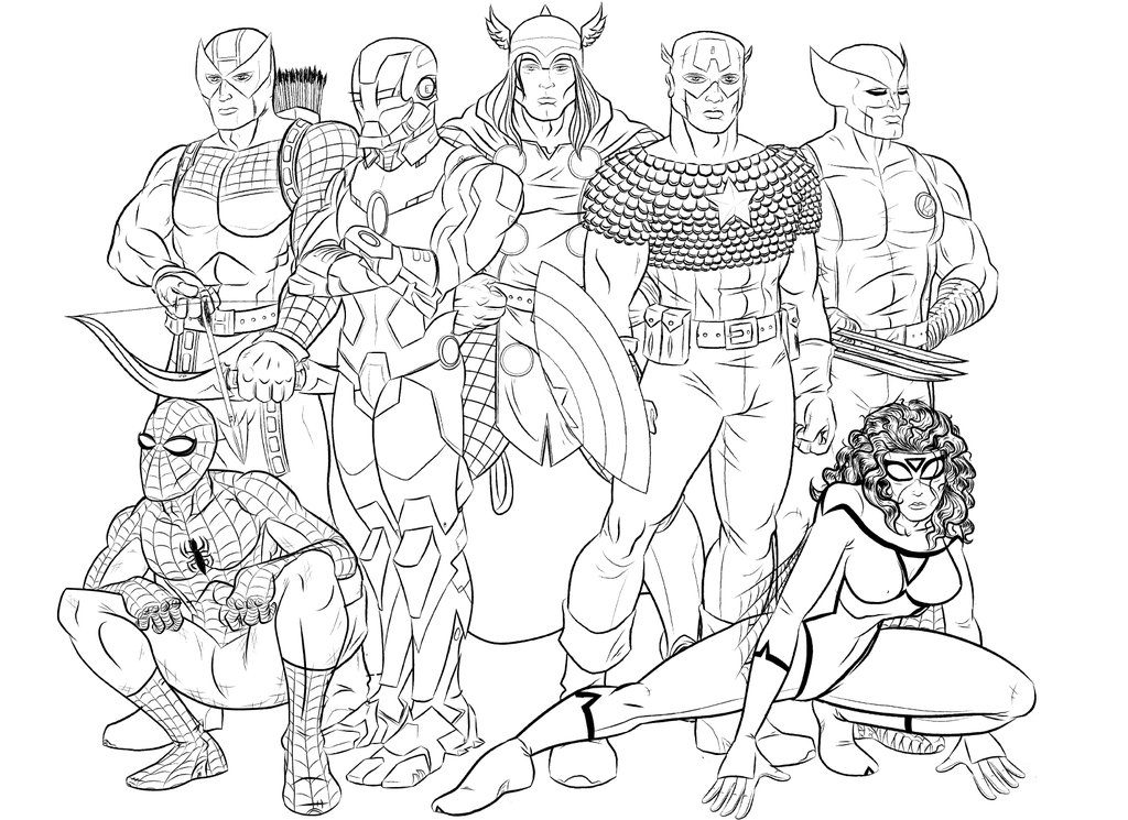 avengers characters coloring pages avenger coloring pages coloring characters pages avengers