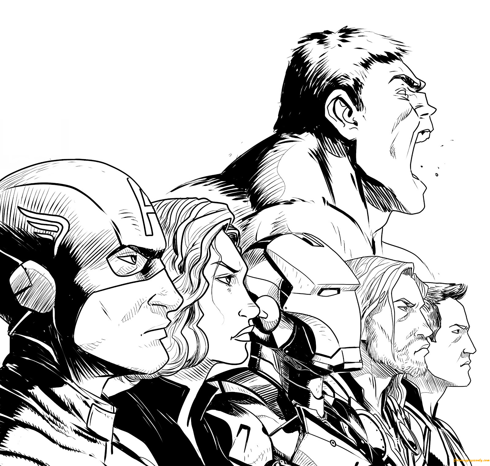 avengers characters coloring pages avengers coloring pages to download and print for free coloring characters avengers pages
