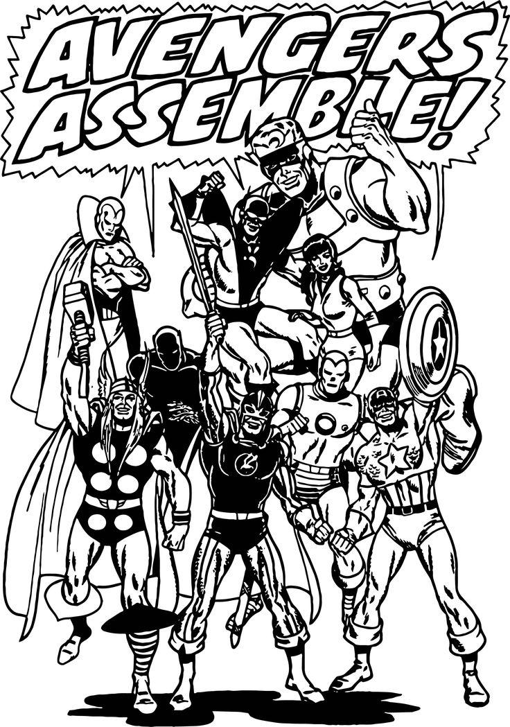 avengers characters coloring pages marvel coloring pages superhero coloring pages characters avengers pages coloring